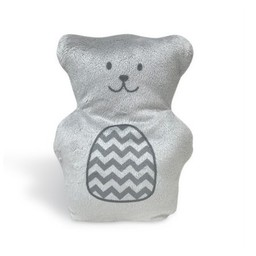 Béké-Bobo Béké Bobo - Ourson Thérapeutique/Therapeutic Teddy Bear, Gris/Grey