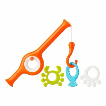 Boon Boon - Canne à Pêche pour le Bain Cast/Cast Fishing Pole Bath Toy