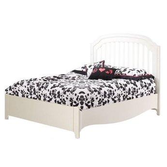 Natart Allegra Lit Double Avec Pied De Lit A Profil Bas Double Bed