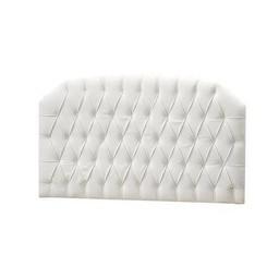 Natart Juvenile Natart Allegra - Panneau Rembourré/Tufted Panel, Blanc/White