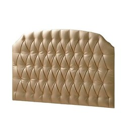 Natart Juvenile Natart Allegra - Panneau Rembourré/Tufted Panel, Platine/Platinum