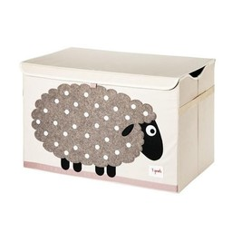 3 sprouts 3 Sprouts - Coffre À Jouets/Toy Chest, Mouton/Sheep