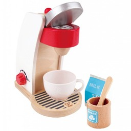 Hape Hape - Machine à Café/Coffee Maker, Rouge/Red