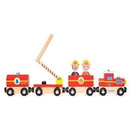 Janod Janod - Train de Pompiers/Story Train Firefigther