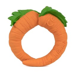 Oli & Carol Oli & Carol - Jouet de Dentition/Teether Toy, Cathy la Carotte/Cathy the Carrot