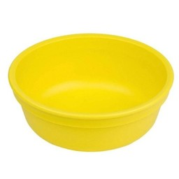 Re-Play Re-Play - Bol de Plastique/Plastic Bowl, 5'', Jaune/Yellow