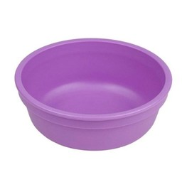Re-Play Re-Play - Bol de Plastique/Plastic Bowl, 5'', Mauve/Purple