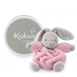 Kaloo Lapin Musical Plume de Kaloo/Musical Rabbit Plume by Kaloo, Rose/Pink