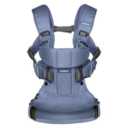 BabyBjörn BabyBjörn - Porte-Bébé One AIR/One AIR Baby Carrier, Filet Marine/Navy Blue Mesh