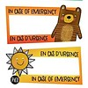 Pico Tatouages Temporaires Pico Tatoo - Tatouages Temporaires/Temporary Tattoos, En Cas D'urgence/In Case of Emergency
