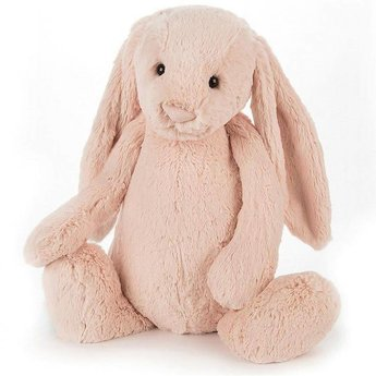 Jellycat Jellycat - Lapin Bashful Blush/Bashful Blush Bunny, Large, 15 Pouces/Inches