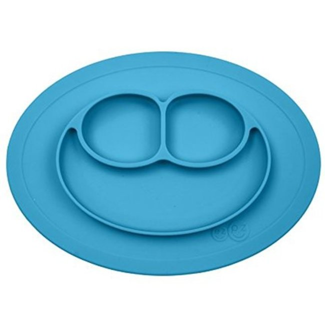 Ezpz EzPz - Mini Mat All-in-one Placemat and Plate, Blue