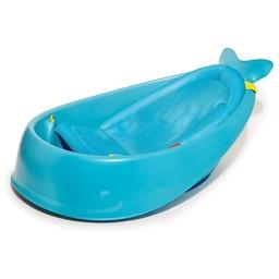 Skip Hop Skip Hop - Baignoire Évolutive en 3 Étapes Moby/Moby 3 Stages Tub, Bleu/Blue