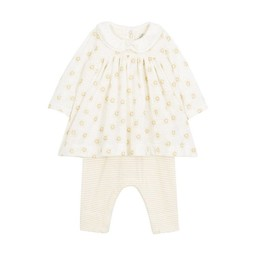 Petit Bateau Petit Bateau - Robe et Leggings Tamara/Tamara Dress and Leggings