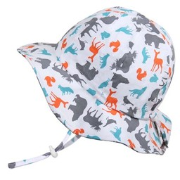 Twinklebelle Twinklebelle - Chapeau Soleil Ajustable en Coton/Grow With Me Cotton Sun Hat
