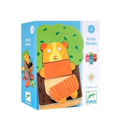 Djeco Djeco- Casse-Tête en Bois ArbraDoudou/ Wooden Puzzles ArbraDoudou