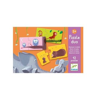 Djeco Djeco - Mother and Baby Duo Puzzle