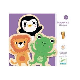 Djeco Djeco - Coucou Wooden Fridge Magnets