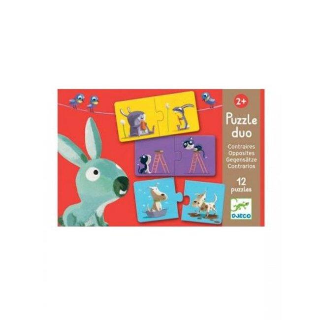 Djeco Djeco - Opposites Puzzle Duo