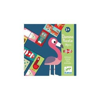 Djeco Djeco - Domino Animaux Puzzle