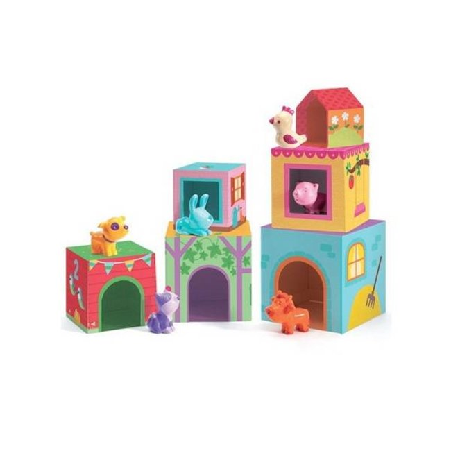 Djeco Djeco - Stacking Toys Topaniferme