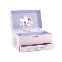 Djeco Boîte à Musique Mélodie de la Ballerine de Djeco/Djeco Musical Box Ballerina Melody