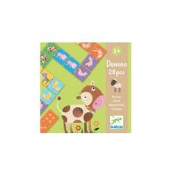 Djeco Domino Animaux de la Ferme de Djeco/Djeco Domino Farm