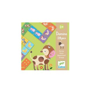 Djeco Djeco - Domino Farm Animals