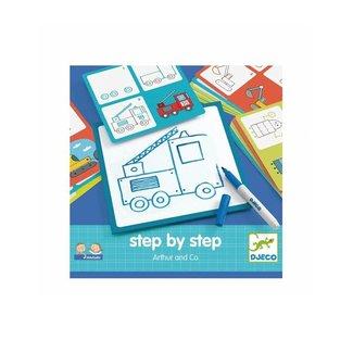 Djeco Eduludo Step By Step Arthur & Co Djeco/Djeco Eduludo Step By Step Arthur&Co