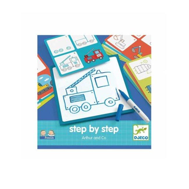 Djeco Djeco - Eduludo Step By Step Arthur&Co