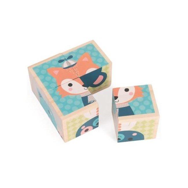 Janod Janod - Mes Premiers Cubes, Forêt