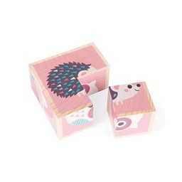 Janod Janod - Mes Premiers Cubes/My First Cubes, Animaux/Animals