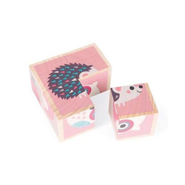 Janod Janod - My First Cubes, Animals