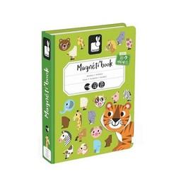 Janod Janod - Livre Magnétique/Magnetibook, Animaux/Animals