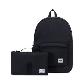 Herschel Herschel - Sac à Couches à Dos Settlement Sprout/Settlement Sprout Diaper Backpack, Noir/Black