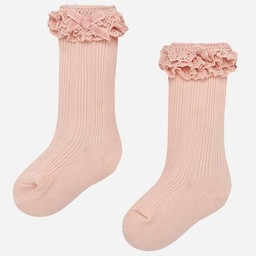 Mayoral Mayoral - Chaussettes à Volants/Ruffled Socks, Rose/Pink