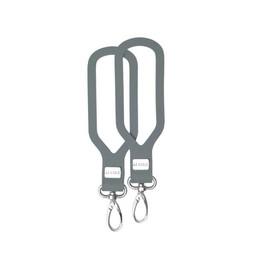 JJ Cole JJ Cole - Attaches Grips pour Poussette/JJ Cole Grips Stroller Attachment, Graphite