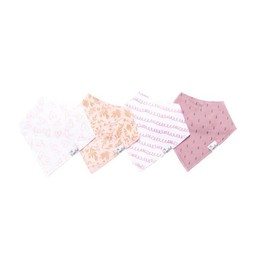 Copper Pearl Copper Pearl - Paquet de 4 Bavoirs/Set of 4 Bibs, Lola