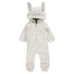 Noppies Noppies - Combinaison Lapin Theodore/Theodore Rabbit Playsuit, Dove