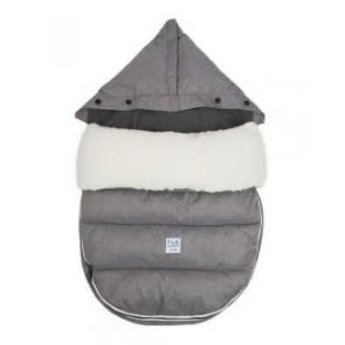 7 A.M 7A.M. - Housse LambPOD + Base/LambPOD, Gris Chiné/Heather Grey