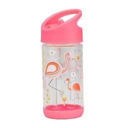 Sugarbooger Sugarbooger - Gourde Flip and Sip/Flip and Sip Bottle, Flamants/Flamingo