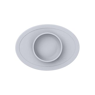 Ezpz EzPz - Tiny Bowl All-in-one Placemat and Bowl, Pewter