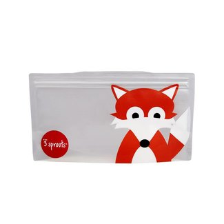 3 sprouts 3 Sprouts - Sacs à Collation/Snack Bags, Renard/Fox