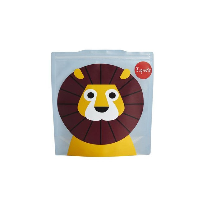 3 sprouts 3 Sprouts - Sandwich Bags, Lion
