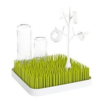 Boon Boon - Accessoire Twig pour Égouttoir à Biberons Grass et Lawn/Twig Grass and Lawn Drying Rack Accessory, Blanc/White