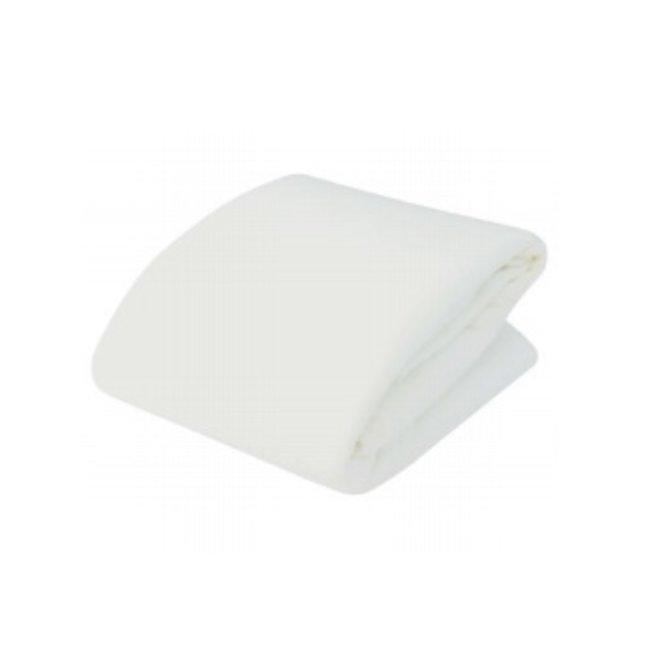 Kushies Kushies - Waterproof Crib Mattress Cover, White