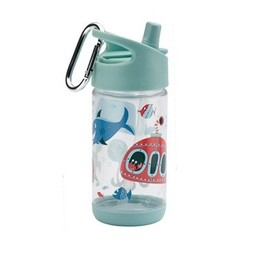 Sugarbooger Sugarbooger - Gourde Flip and Sip/Flip and Sip Bottle, Océan/Ocean