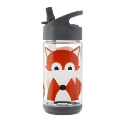 3 sprouts 3 Sprouts - Bouteille d'Eau/Water Bottle, Renard/Fox