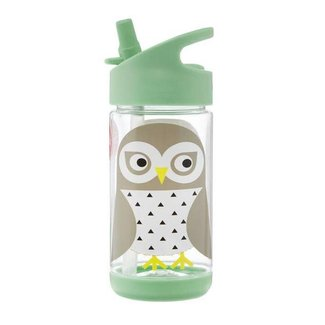 3 sprouts 3 Sprouts - Water Bottle, Owl