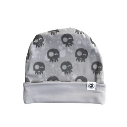Headster Kids Headster Kids - Tuque Réversible Grey Skull/Grey Skull Reversible Hat